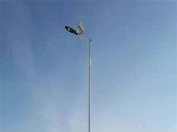 鑫永虹照明武威一体化太阳能路灯工程案例
