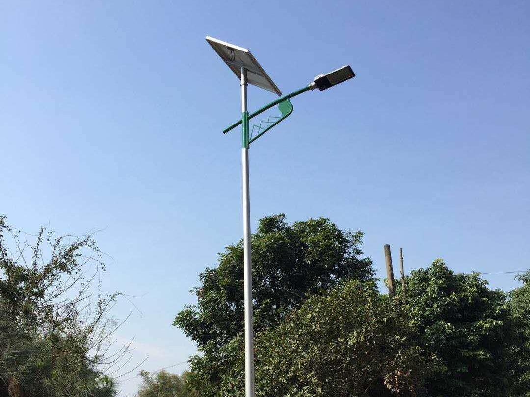 广西南宁上思县新农村太阳能路灯工程