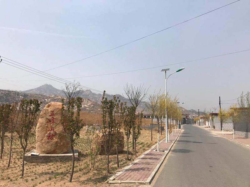 鑫永虹秦皇岛昌黎县太阳能路灯工程