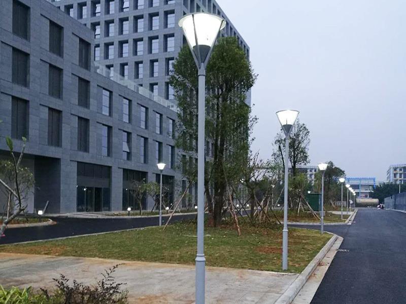 北海中国电子北部湾信息港LED庭院灯工程