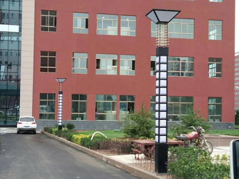 平凉职业技术学院LED景观灯工程