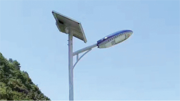 农村道路适合市电路灯还是太阳能道路灯