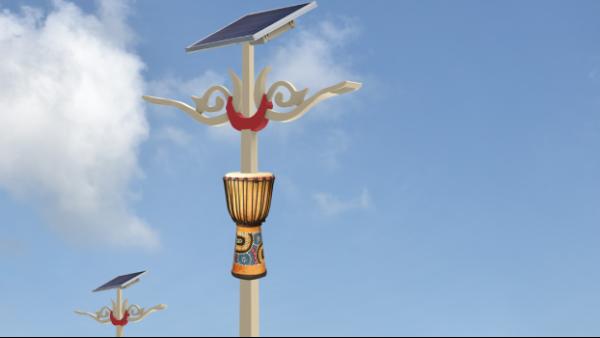 浅谈led太阳能路灯灯杆热镀锌的重要性!