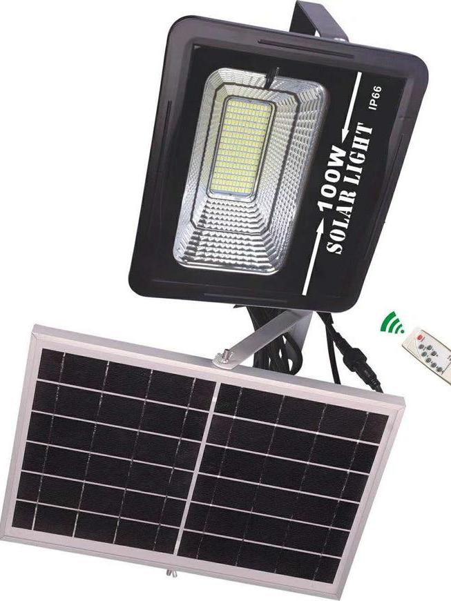 太阳能投光灯